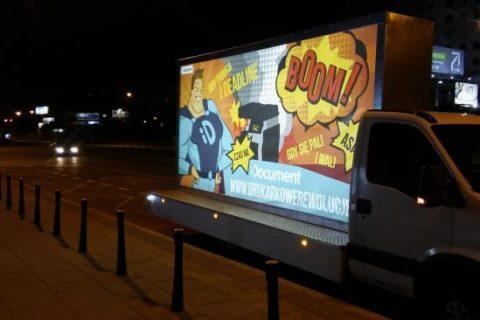 Busy reklamowe Warszawa