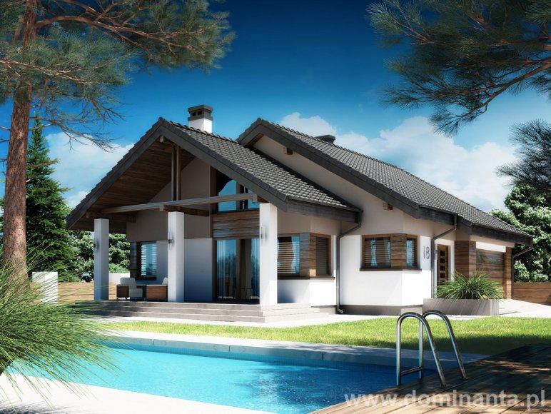 Projekt domu Nel, Dominanta