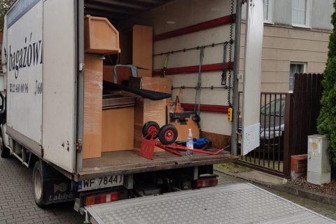 Transport rzeczy w Warszawie